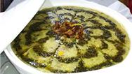 فیلم آشپزی/ دستور پخت کامل آش سبزی شیرازی