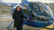 فراز و فرودهای زندگی سمیرا شبانی  تنها خلبان زن بالگرد ؛از مادری تا پرواز