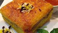 آشپزی ایرانی/ دستور پخت کامل ته چین گوشت