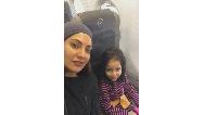 عکس مادر و دختری مهناز افشار و فرزندش