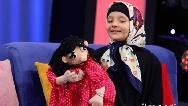 فیلم عروسک گردانی آوا شراهی دختر 8 ساله با همراهی مهران غفوریان در برنامه اعجوبه ها
