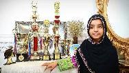 گفتوگو با یسرا سلیمانی نابغه 12 ساله برنامه عصر جدید که در مسابقات جهانی اول شد