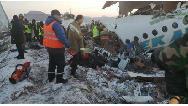 سقوط مرگبار هواپیمای مسافربری در قزاقستان با ۹۵ سرنشین