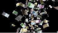 باران پول در بزرگراه؛ سارق بانک دست به کار عجیبی زد