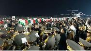 فیلم لحظه ورود پیکر مطهر سردار شهید سلیمانی به اهواز