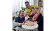 عکس و نوشته عاشقانه اسدالله یکتا برای تولد همسرش
