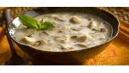 دستور پخت سوپ جو با شیر و قارچ را ببینید