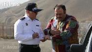 ببینید: وقتی پلیس مهران غفوریان را جریمه میکند