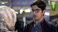 سکانس خداحافظی جواد جوادی و مژگان در فرودگاه در سریال بچه مهندس