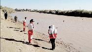 مادر فداکار هنگام نجات پسرش از رودخانه غرق شد
