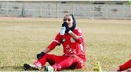 سمیه خرمی،خانم گل لیگ برتر فوتبال : خوشحالم مثل علی دایی گلزنی میکنم