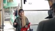 فیلمی از پشت صحنه بازی ساره بیات در سریال عاشقانه 2، گیسو