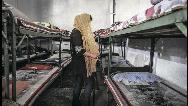 سقوط یک زن با طناب شوهر