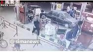 فیلم/3 کشته و 6 زخمی در انفجار پمپ بنزین