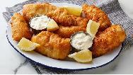فیلم آشپزی؛ دستور پخت ماهی سوخاری پفکی خوشمزه بدون فر