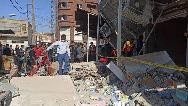 فیلمی از انفجار مرگبار گاز در بازارچه عامری اهواز
