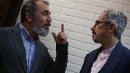 فیلمی از پشت صحنه سریال صفر 21 ساخته جواد رضویان و سیامک انصاری