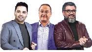شروع رقابت احسان علیخانی، رامبد جوان و رضا رشیدپور
