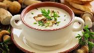 سوپ قارچ و خامه مجلسی را چه طور درست کنیم