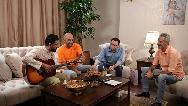 بخشی جذاب از مهمانی شام سلبریتی ها در خانه امیرمهدی ژوله