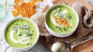 سوپ کلم بروکلی با مرغ یا قارچ ؛دستور پخت و طرز تهیه