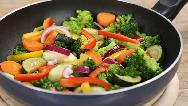 طرز تهیه خوراک سبزیجات خوشمزه