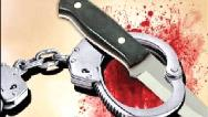 قتل مرد جوان مقابل چشمان همسرش