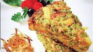 طرز تهیه یک غذای رژیمی برای شام؛ کوکوی سبزیجات