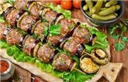 فیلم آموزش تهیه پاتلیجان کباب، غذای ترکیه ای با بادمجان