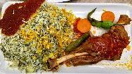 باقالی پلو با گوشت ماهیچه و مرغ؛ طرز تهیه مجلسی