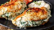طرز تهیه سینه مرغ شکم پر با پنیر