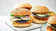 طرز تهیه همبرگر گیاهی خوشمزه در خانه